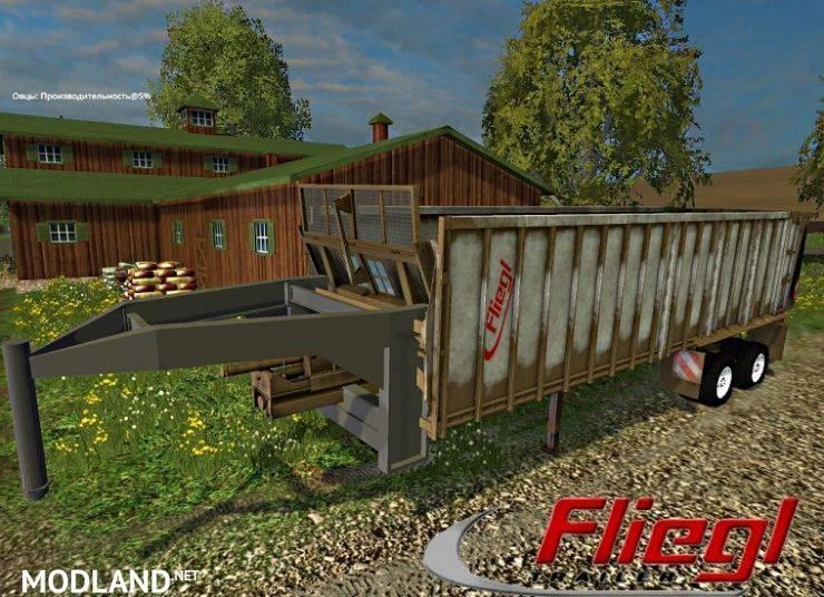 Fliegl ASS 2101 Gooseneck