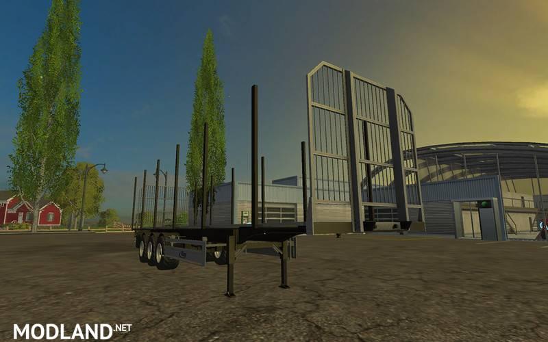 Fliegl Universal Semitrailer Autoload