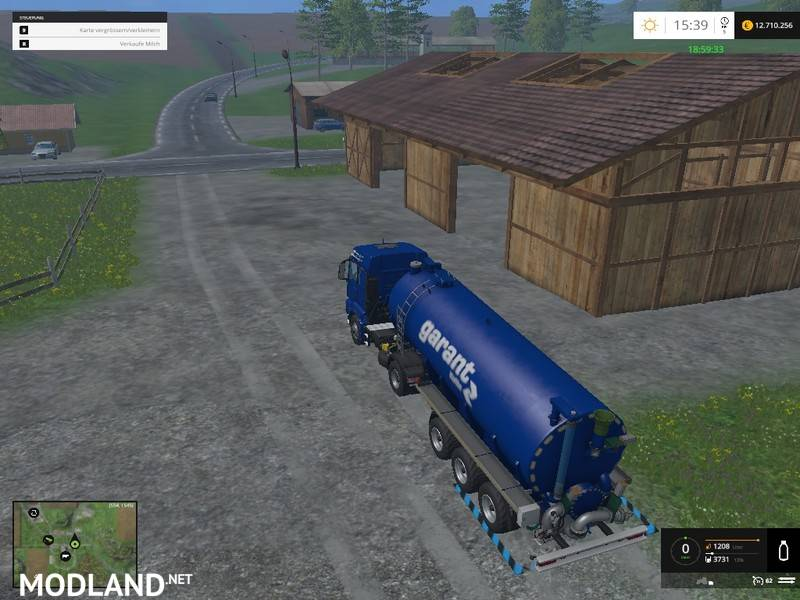 Water Milk Trailer