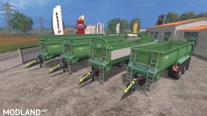 Krampe Bandit 980 Green v 2.0, 1 photo