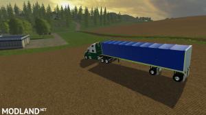 Flatbed Conestoga trailer, 2 photo