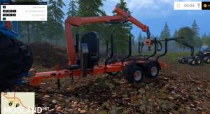 Stepa Forest Trailer With Crane v 1.1, 2 photo