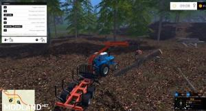 Stepa Forest Trailer With Crane v 1.1, 3 photo