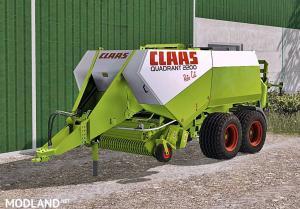 Claas Quadrant 2200 Roto Cut Waschbar