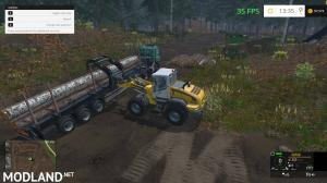 Fliegl Timber Runner Wide With Autoload v 1.1, 10 photo