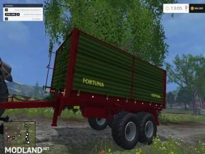 Fortuna FTD150 Trailer
