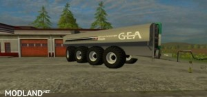 GEA Liquid Manure Spreader v 1.0, 1 photo