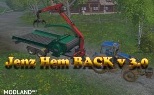 Jenz Hem BACK v 3.0, 1 photo