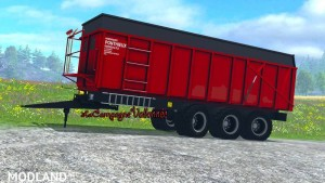 Ponthieux 24 tonne v 0.9 Red BETA, 1 photo