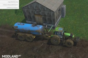 Zunhammer Water and Milktrailer v 2.0.1, 2 photo