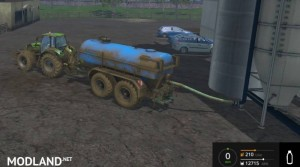 Zunhammer Water and Milktrailer v 2.0.1, 3 photo