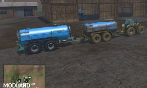 Zunhammer Water and Milktrailer v 2.0.1, 1 photo