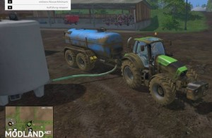 Zunhammer Water and Milktrailer v 2.0.1, 7 photo