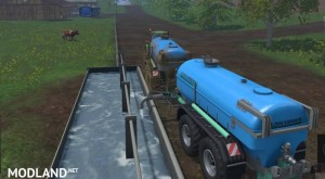 Zunhammer Water and Milktrailer v 2.0.1, 8 photo