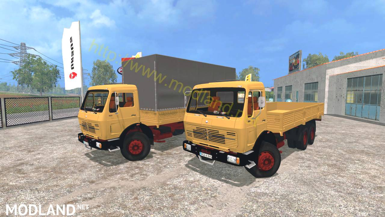 Mercedes benz ng 1632 mod for farming simulator 2015 15 for Mercedes benz mods