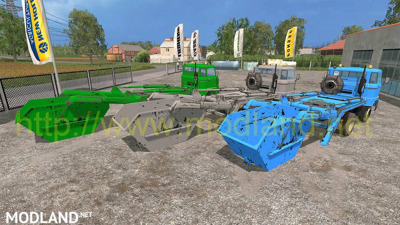 Ifa W50 Absetzer Pack Mod For Farming Simulator 2015 15