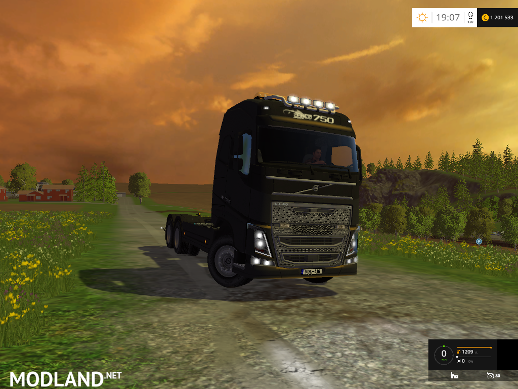 Volvo FH16 750 Frame v 1.1 mod for Farming Simulator 2015 ...