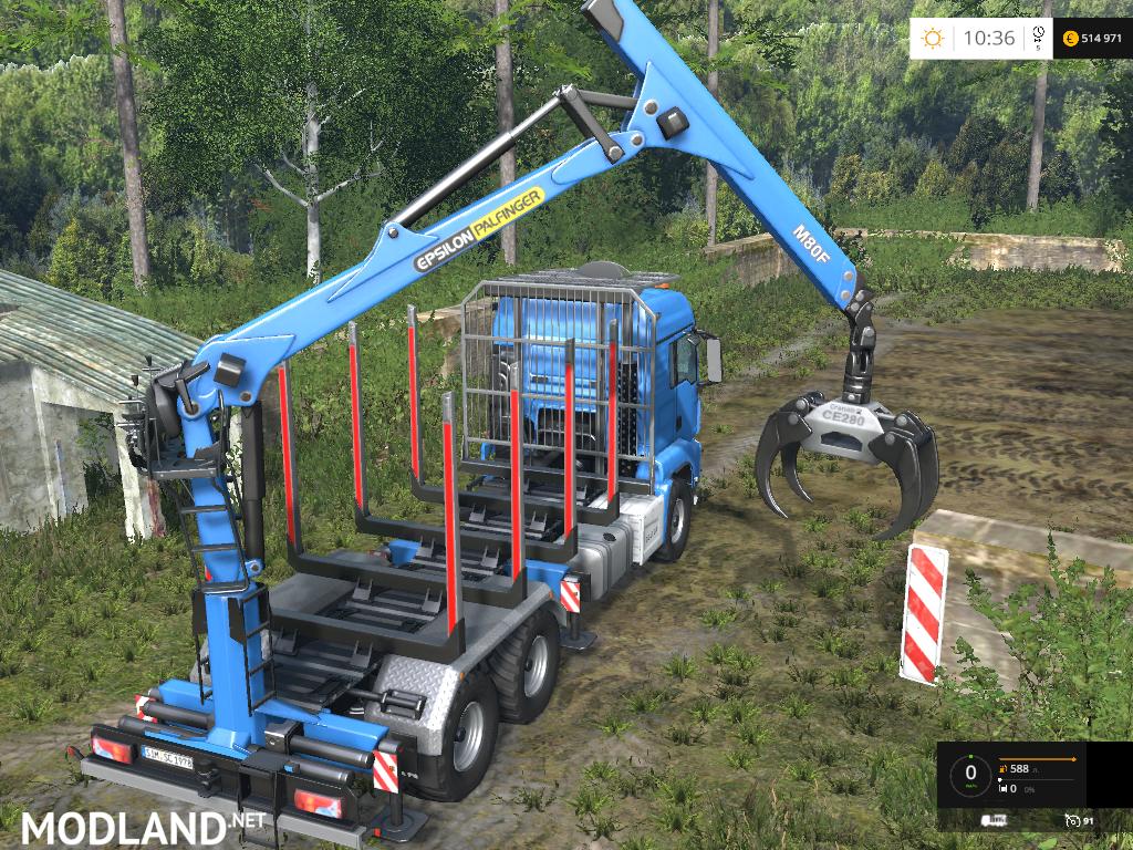 man tgs forest set v 2 1 beta mod for farming simulator. Black Bedroom Furniture Sets. Home Design Ideas