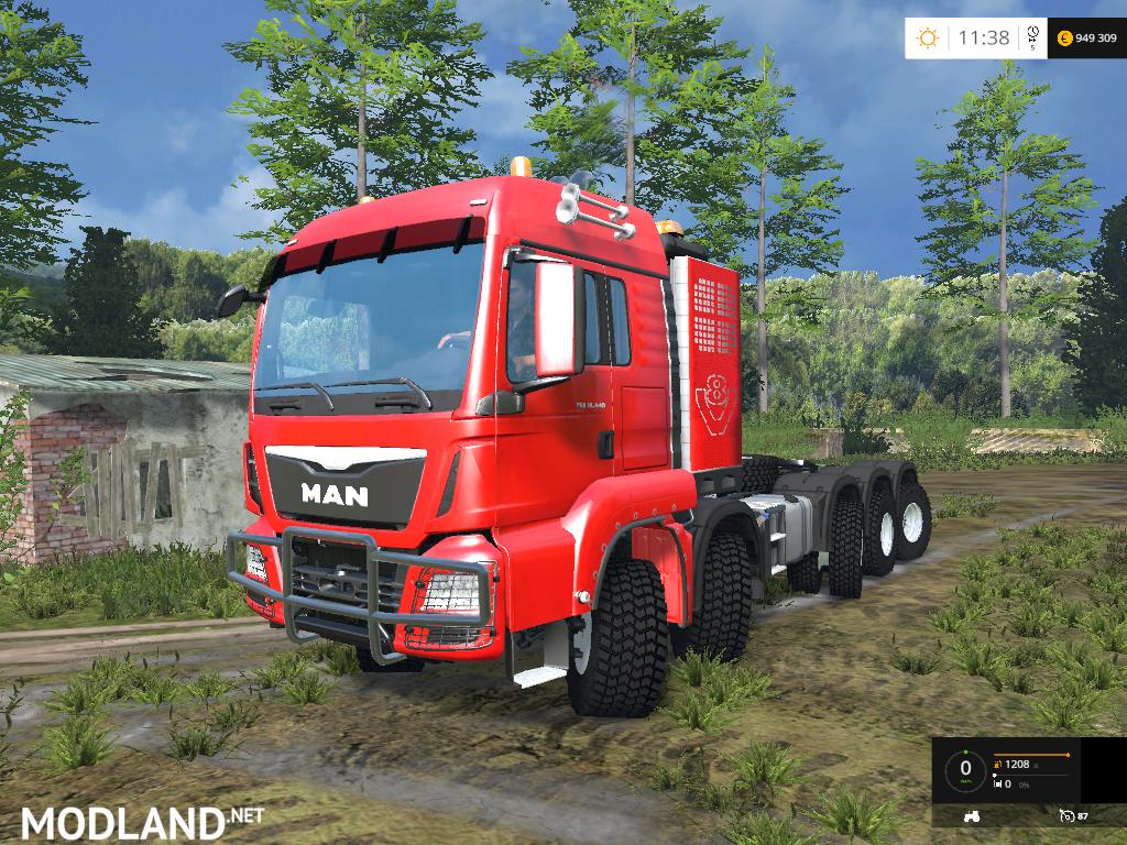 man super truck v1 1 mod for farming simulator 2015 15 fs ls 2015 mod. Black Bedroom Furniture Sets. Home Design Ideas