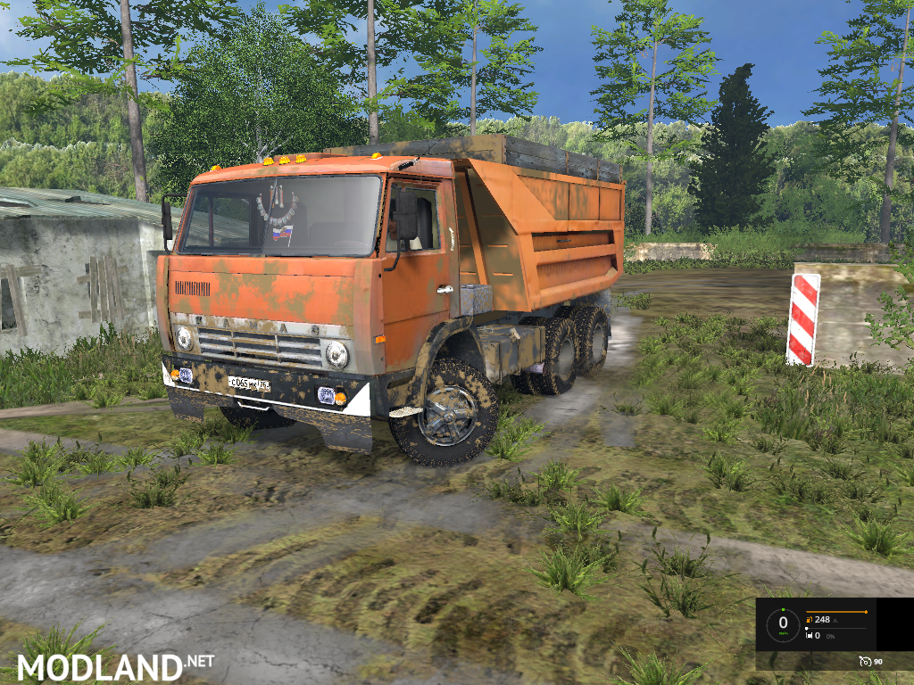 kamaz 551111 full edition v 1 0 mod for farming simulator