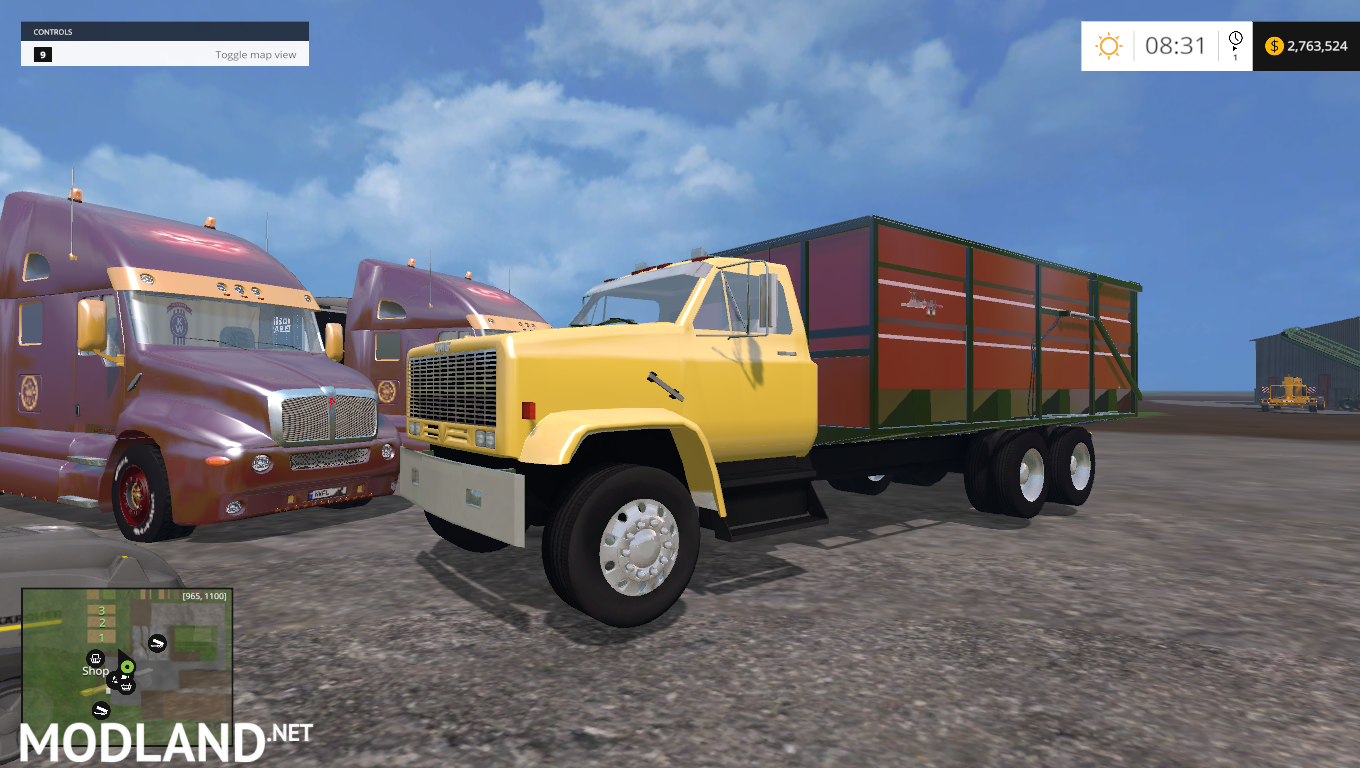 gmc dump truck mod for farming simulator 2015 15 fs ls 2015 mod. Black Bedroom Furniture Sets. Home Design Ideas