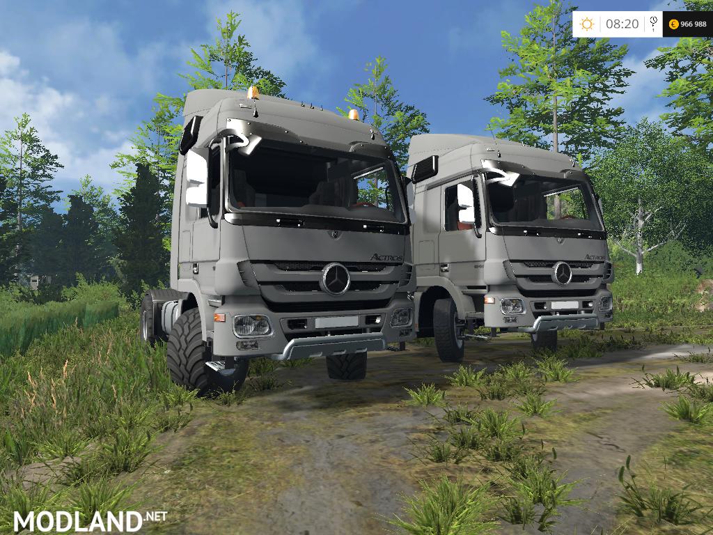 mercedes benz actros mp3 1848 v 0 8 beta mod for farming simulator 2015 15 fs ls 2015 mod. Black Bedroom Furniture Sets. Home Design Ideas