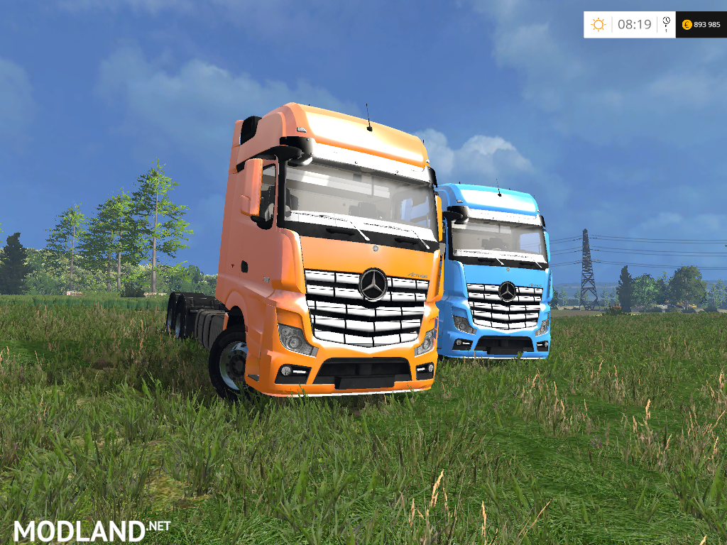 Mercedes benz actros 2014 ar v 1 0 mod for farming for 2014 mercedes benz truck
