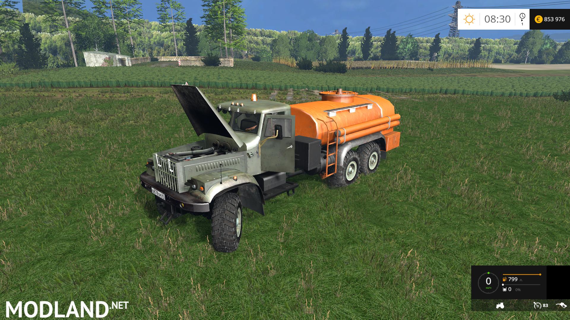 kraz 6x6 fuel tank