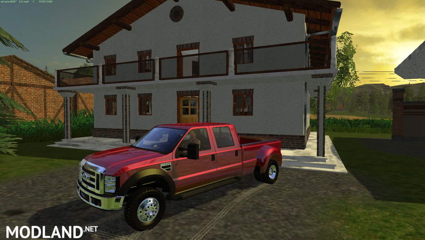Ford F450 Dually mod for Farming Simulator 2015 / 15 | FS