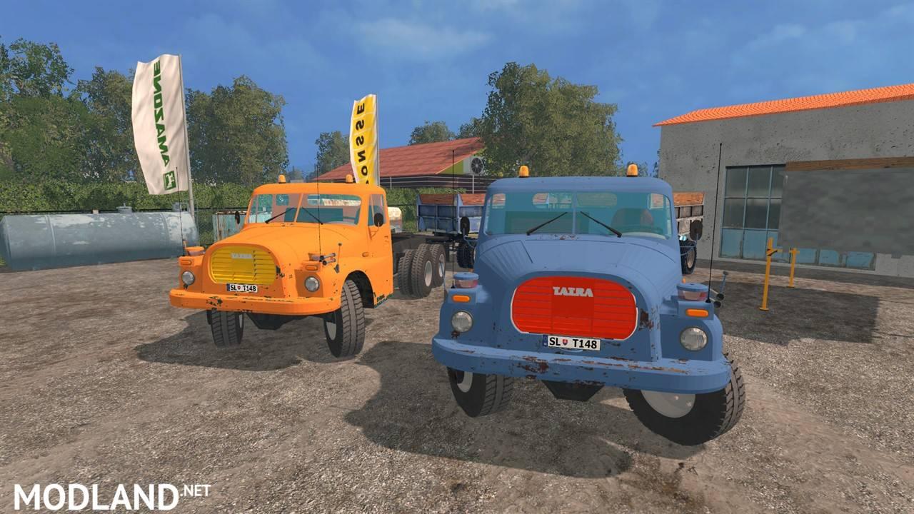 Tatra 148 Pack Mod For Farming Simulator 2015 15 Fs