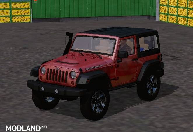 Jeep Wrangler mod for Farming Simulator 2015 / 15 | FS, LS