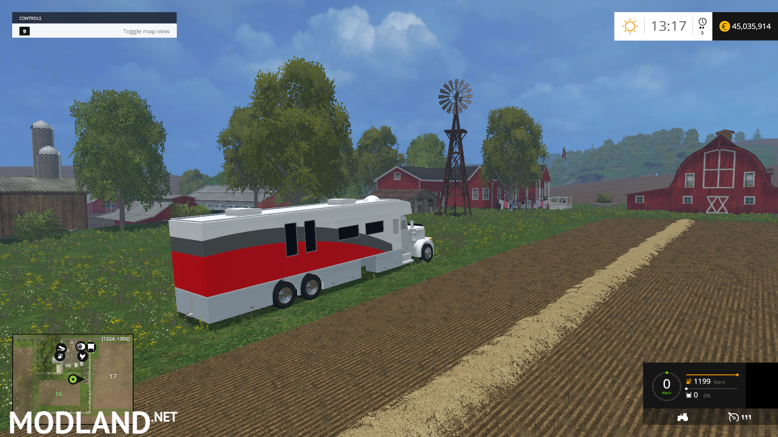 rv truck mod for Farming Simulator 2015 / 15 | FS, LS 2015 mod