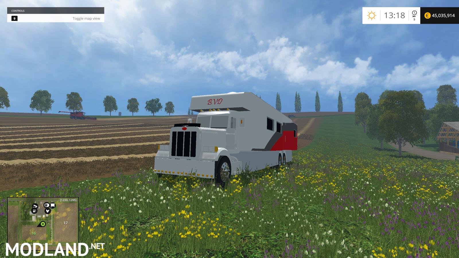 Rv Truck Mod For Farming Simulator 2015 15 Fs Ls 2015 Mod