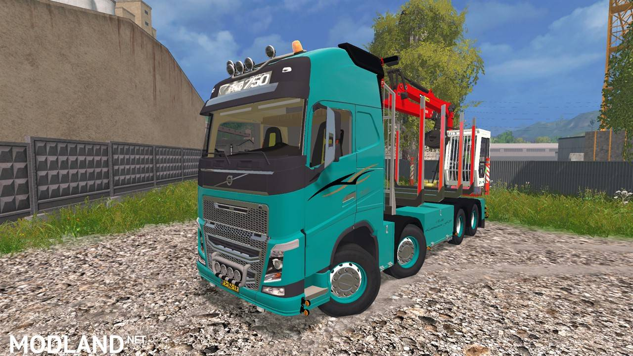 1 photo volvo fh 750 forest