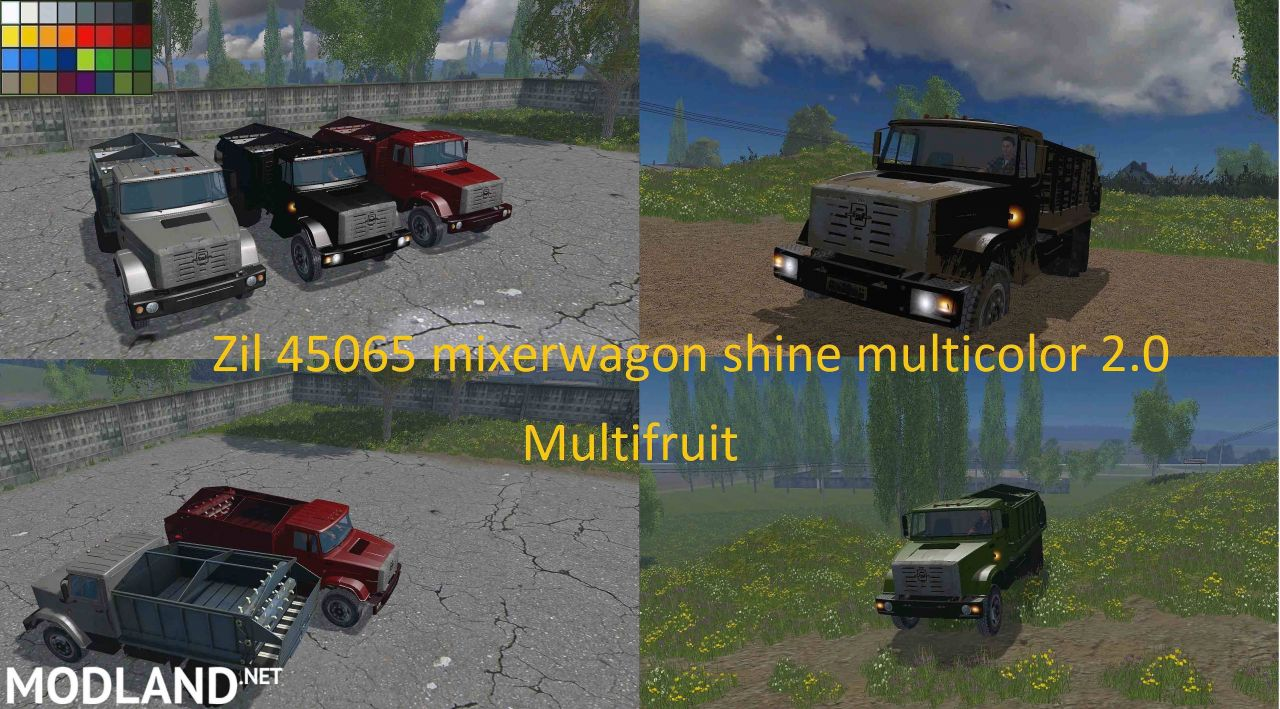 Zil 45065 Mixerwagon Dhine Multicolor 2.0 Multifruit