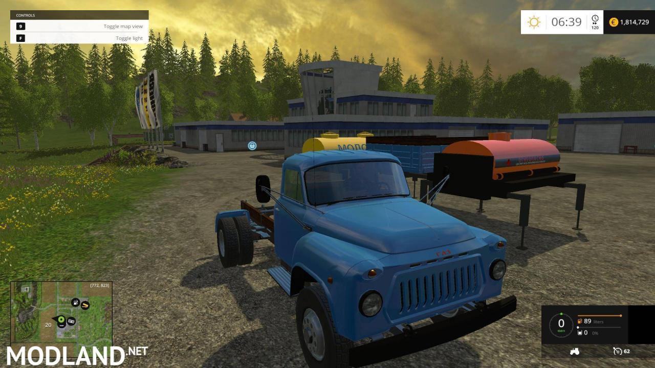 GAZ 53 TRUCKS PACK