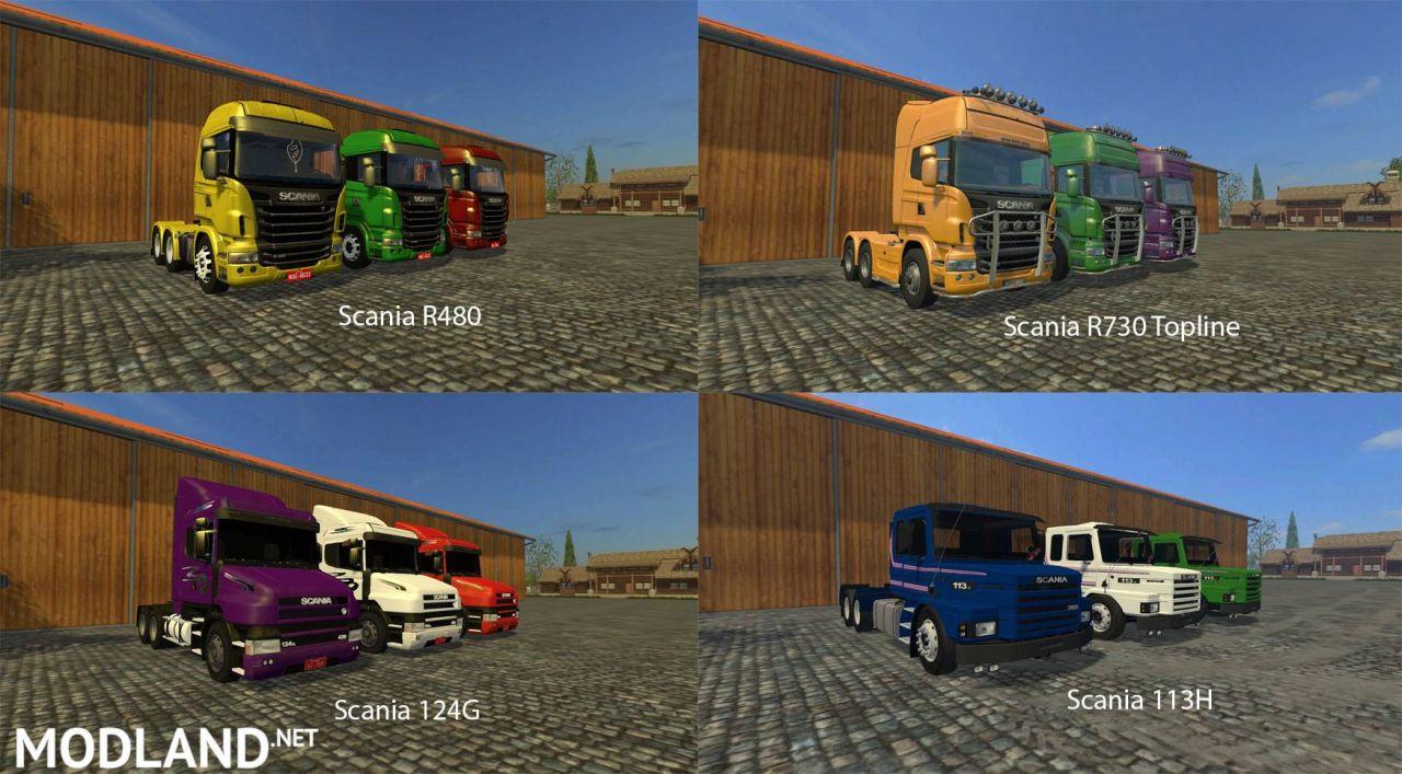 FS15 Big Mods Pack V20 Trucks Pack