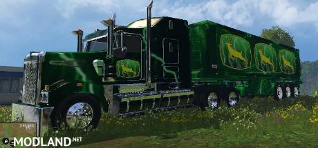 John Deere Truck + Trailer