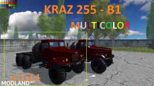 KRAZ 255 b1 MULTICOLOR v 1.2.1 matte, 1 photo