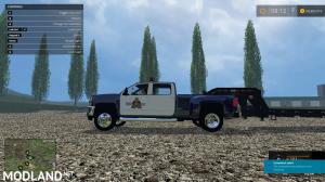 Chevy Silverado RCMP Police Truck, 2 photo