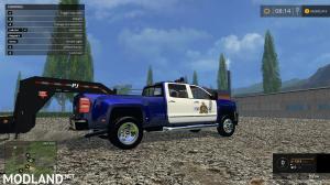 Chevy Silverado RCMP Police Truck, 1 photo