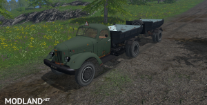 ZIL 585L + Trailer, 1 photo