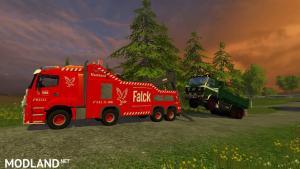 MB Axor Wrecker Falck v 1.0, 6 photo