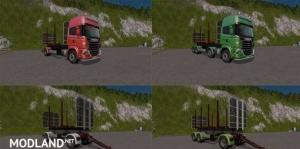 Scania 730 Forest Pack Multicolor, 1 photo