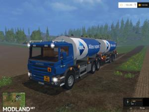 Scania Tanker & Trailer