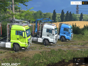 MAN TGS Forest Set v 2.1 Beta, 10 photo