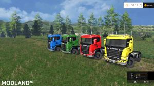 Scania R 730 Streamline Agro Multicolor v 1.0