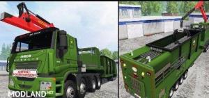 Iveco Stralis (wood chippers) v 1.1, 1 photo