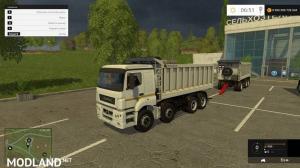 KamAZ and trailers v1.2