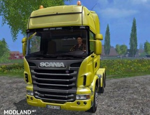 Scania R730 LUX